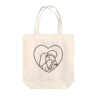 キスからはじまる物語 Tote bags