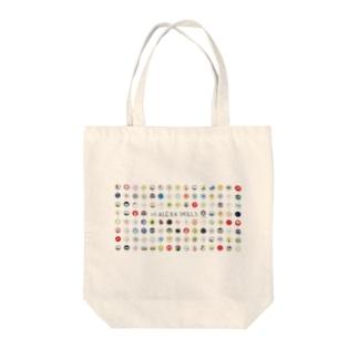 113 Alexa Skills by aoxa Tote bags