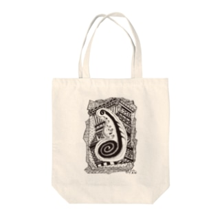 kw_01b_縄文 Tote bags