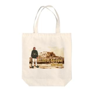 ギリシャ:衛兵とアクロポリス Greece: Guards & Acropolis Tote bags