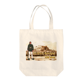 FUCHSGOLDのギリシャ:衛兵とアクロポリス Greece: Guards & Acropolis Tote bags