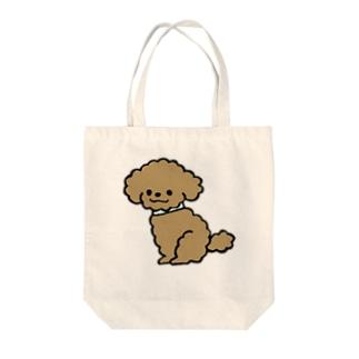 トイプードルKUSHU*KUSHU Tote bags