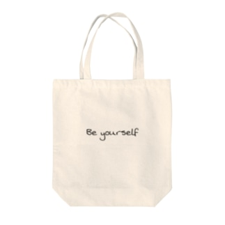 Be yourself じぶんらしく Tote bags