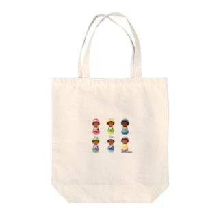 ぶりどりメンバー Tote bags