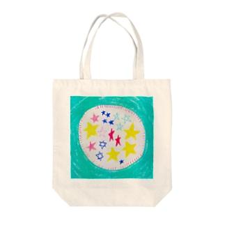 星のサラダ Tote bags