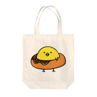 ひよさんドーナツ Tote bags