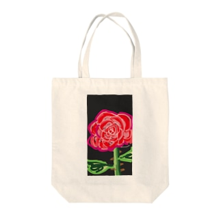 華麗なるバラ Tote bags