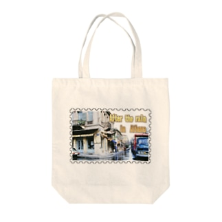 ギリシャ:雨上がりのアテネ★白地の製品だけご利用ください!! After the rain in Athens/Greece★Recommend for white base products only !! Tote bags