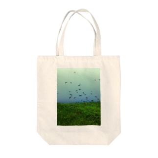 SUMIDA FISH Tote bags