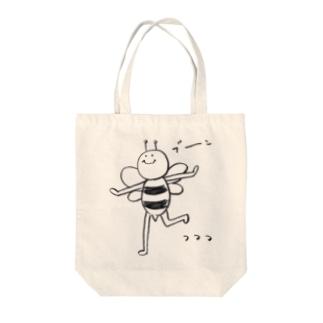 ぶーん としてるハチ Tote bags