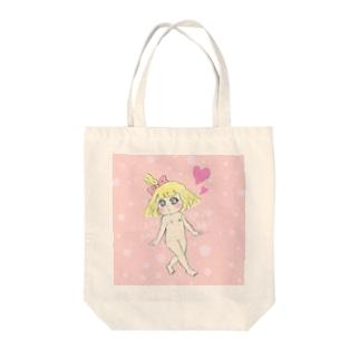 おんにゃのこシリーズ【RARARA♪】 Tote bags