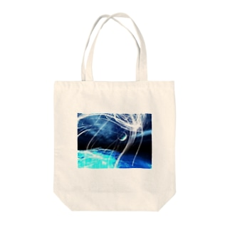 0608knynの幻想プリント Tote bags