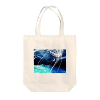 幻想プリント Tote bags