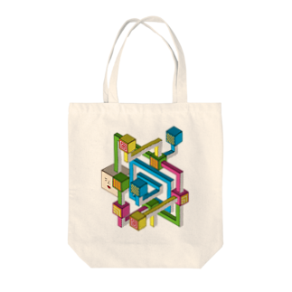 OZA_WORLDのあらゆる事を考えていそうな置物 Tote bags