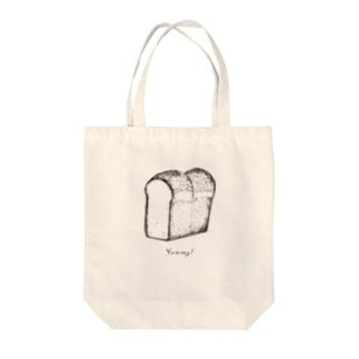 Yummy! パン・ド・ミ Tote bags