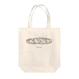 YUMMIY! バゲット Tote bags