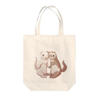 ポニョ蘭丸1 Tote bags