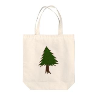 針葉樹。 Tote bags
