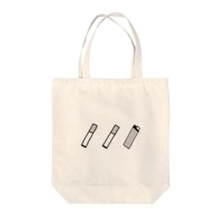 タバコさん Tote bags
