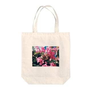 サルスベリ Tote bags