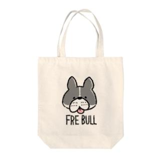 FRE BULL Tote bags