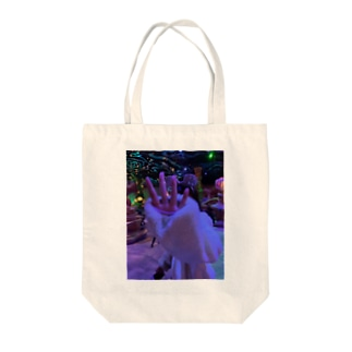 ディズニーって夢の国 Tote bags
