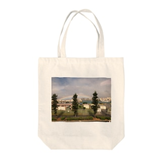 沖縄の虹 Tote bags