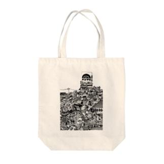 立体都市メリヤス Tote Bag