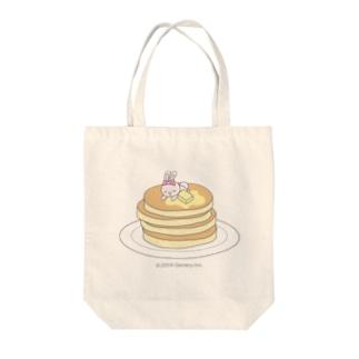 パンケーキもすきなの Tote bags