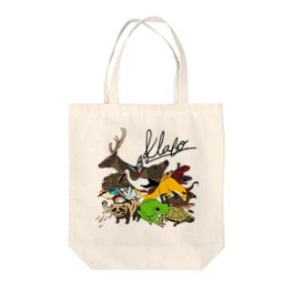 Toyooka Animals Tote bags