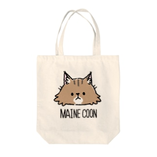 MAINE COON Tote bags