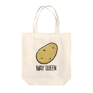 MAY QUEEN Tote bags