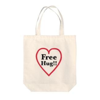 FreeHug‼ Tote bags