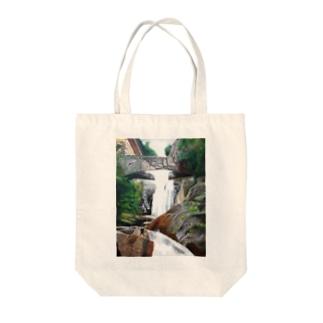 密林の風景 Tote bags