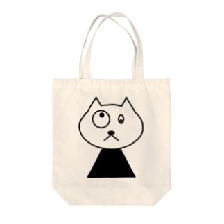 やばいねこ Tote bags