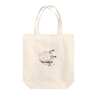 イソギウサギ  ごはん編 Tote bags