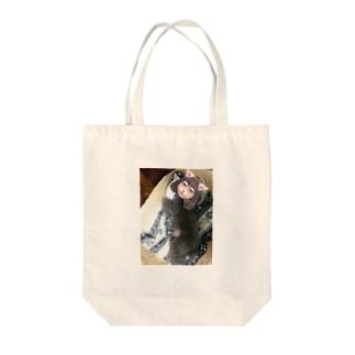 あにょん Tote bags