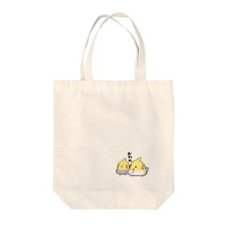 オカメインコズ Tote bags
