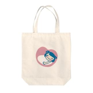 虚構 Tote bags