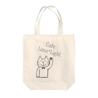 にゃごるさん Tote bags