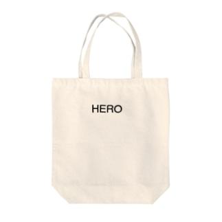 HERO ロゴ Tote bags