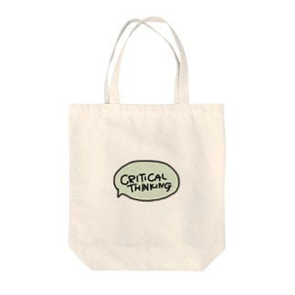 Critical Thinking Tote bags