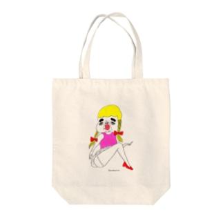 セクシカトリーヌちゃん Tote bags