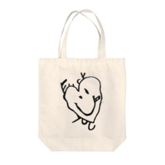 ふぁっとー(淡色用) Tote bags
