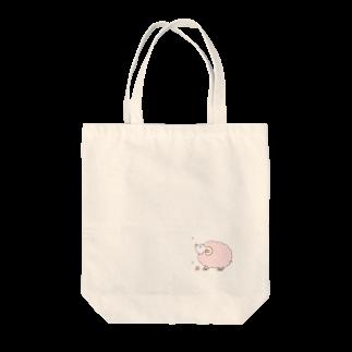 桜華爛漫の桜ひつじ Tote bags