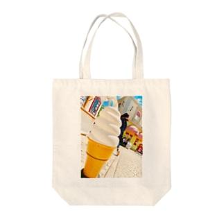 EMIRIのアイスクリーム Tote bags