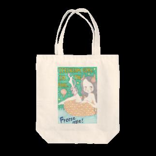 kaoru_littieのIce cream girl in the pool            Tote bags