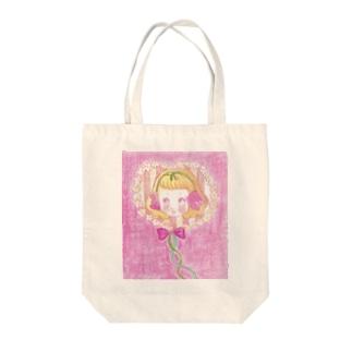 Flower baby Tote bags