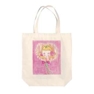 kaoru_littieのFlower baby Tote bags