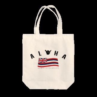 HSC ハワイスタイルクラブのAloha Flag Tote bags